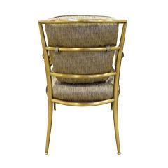 Mastercraft Mastercraft Pair Of Greek Key Lounge Chairs In Brass 1960s - 1302244