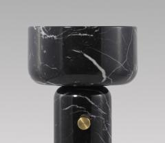 Matlight Milano E Elizarova for Matlight Italian Andromeda Black Marble Grand Cup Table Lamp - 1700060