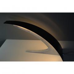 Matlight Milano S Rubertelli for Matlight Italian White Marble and Bronzed Aluminum Table Lamp - 1614308