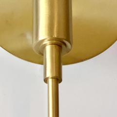 Matlight Milano Vanessa Bespoke Minimalist Italian White Marble Satin Brass Modern Table Lamp - 2015102