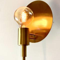 Matlight Milano Vanessa Bespoke Minimalist Italian White Marble Satin Brass Modern Table Lamp - 2015103