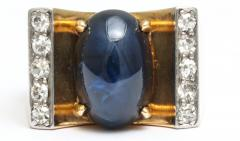 Mauboussin Mauboussin Gold Ring with Sapphire and Diamonds - 221291