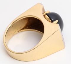 Mauboussin Mauboussin Gold Ring with Sapphire and Diamonds - 221293