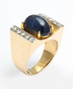 Mauboussin Mauboussin Gold Ring with Sapphire and Diamonds - 221297