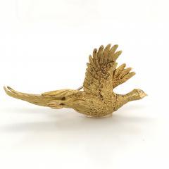 Mauboussin Mauboussin Pheasant Brooch Yellow Gold 18 Carat and Diamond Eye Pin - 1160662
