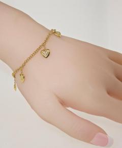 Mauboussin Mauboussin heart bracelet with small diamonds - 1139536