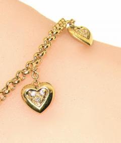 Mauboussin Mauboussin heart bracelet with small diamonds - 1139547