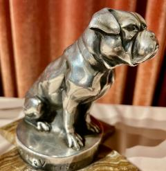 Max Le Verrier Max Le Verrier Bookends Statues of Dog and Cat French Art Deco - 1748828