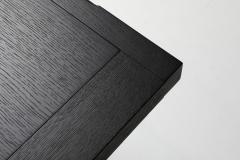 Maxalto Citterio black oak dining table Lucullo for Maxalto 2000s - 1911741