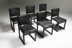 Maxalto Ebonized Oak Dining Chairs by Antonio Citterio for Maxalto 2000s - 1911750
