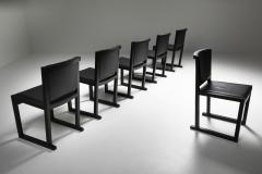 Maxalto Ebonized Oak Dining Chairs by Antonio Citterio for Maxalto 2000s - 1911751