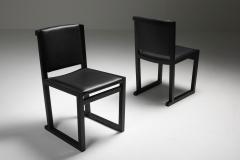 Maxalto Ebonized Oak Dining Chairs by Antonio Citterio for Maxalto 2000s - 1911759