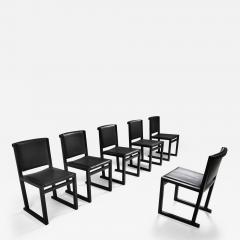 Maxalto Ebonized Oak Dining Chairs by Antonio Citterio for Maxalto 2000s - 1913181