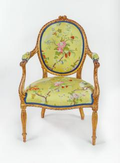 Mayhew Ince George III period salon chair attributable to Mayhew Ince - 2042734