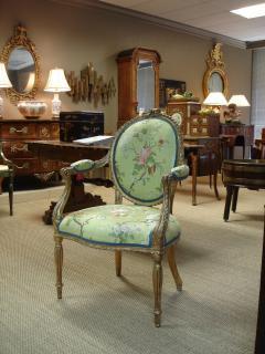 Mayhew Ince George III period salon chair attributable to Mayhew Ince - 2042736