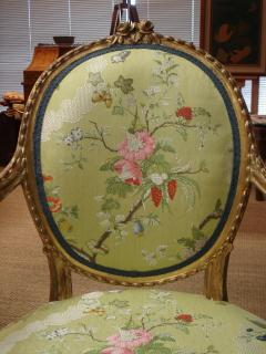 Mayhew Ince George III period salon chair attributable to Mayhew Ince - 2042738