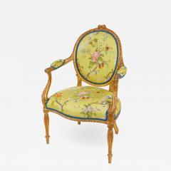 Mayhew Ince George III period salon chair attributable to Mayhew Ince - 2044036