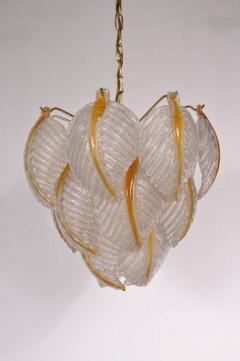 Mazzega Murano 1960s Murano Glass Ceiling Lamp by Mazzega Italy - 828963