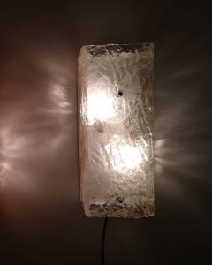 Mazzega Murano Four 1970s large Wall Lights by Mazzega - 380832