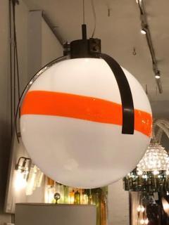 Mazzega Murano Mazzega Mid Century Modernist Murano Glass Ball Shaped Chandelier - 380762