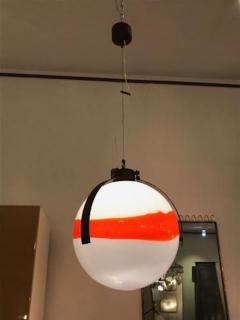 Mazzega Murano Mazzega Mid Century Modernist Murano Glass Ball Shaped Chandelier - 380764