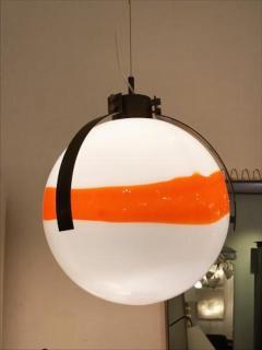 Mazzega Murano Mazzega Mid Century Modernist Murano Glass Ball Shaped Chandelier - 380765