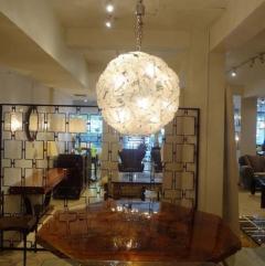 Mazzega Murano Mazzega Very Large Scale Glass Sputnik Chandelier - 1760377