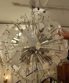 Mazzega Murano Mazzega Very Large Scale Glass Sputnik Chandelier - 1760378