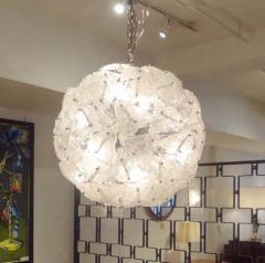 Mazzega Murano Mazzega Very Large Scale Glass Sputnik Chandelier - 1760379