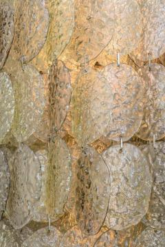 Mazzega Murano Monumental Italian Modern Amber Glass Chandelier by Mazzega - 364165