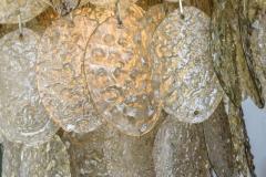 Mazzega Murano Monumental Italian Modern Amber Glass Chandelier by Mazzega - 364168