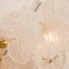 Mazzega Murano Translucent Biomorphic Shaped Ceiling Fixture by Mazzega - 368029