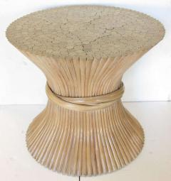 Charming McGuire McGuire Sheaf Of Wheat Table   225682