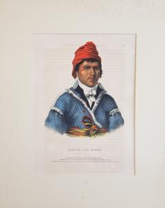 McKenney Hall NAH ET LUC HOPIE a Lithograph Portrait by McKenney Hall - 1171285