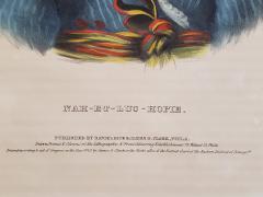 McKenney Hall NAH ET LUC HOPIE a Lithograph Portrait by McKenney Hall - 1171286