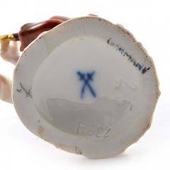 Meissen Antique Meissen Porcelain Figurine of a Cupid Holding an Arrow - 275130