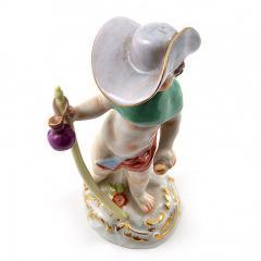 Meissen Meissen Porcelain Figurine Cupid as a Wanderer - 176424