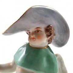 Meissen Meissen Porcelain Figurine Cupid as a Wanderer - 176427