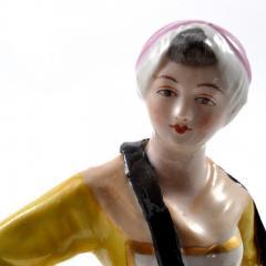 Meissen Meissen Porcelain Figurine Girl with a Basket of Baked Pretzels - 176504