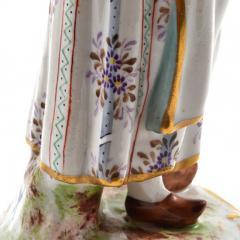 Meissen Meissen Porcelain Figurine Girl with a Basket of Baked Pretzels - 176506