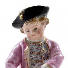 Meissen Meissen Porcelain Figurine of a Boy with Grapes - 176380