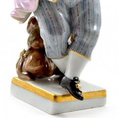 Meissen Meissen Porcelain Figurine of a Boy with Grapes - 176382