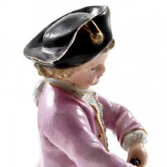 Meissen Meissen Porcelain Figurine of a Boy with Grapes - 176384