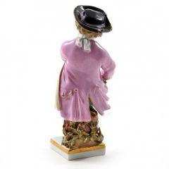 Meissen Meissen Porcelain Figurine of a Boy with Grapes - 176385