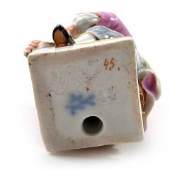 Meissen Meissen Porcelain Figurine of a Boy with Grapes - 176390