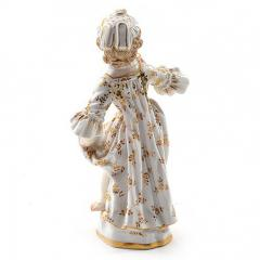 Meissen Meissen Porcelain Figurine of a Child Girl with a Cup - 176456