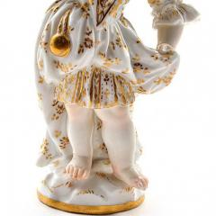 Meissen Meissen Porcelain Figurine of a Child Girl with a Cup - 176461