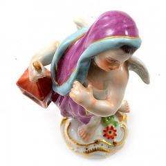 Meissen Meissen Porcelain Figurine of a Cupid Light Keeper - 176495