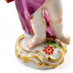 Meissen Meissen Porcelain Figurine of a Cupid Light Keeper - 176498