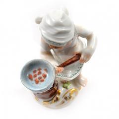 Meissen Meissen Porcelain Figurine of a Cupid as a Cook - 176478